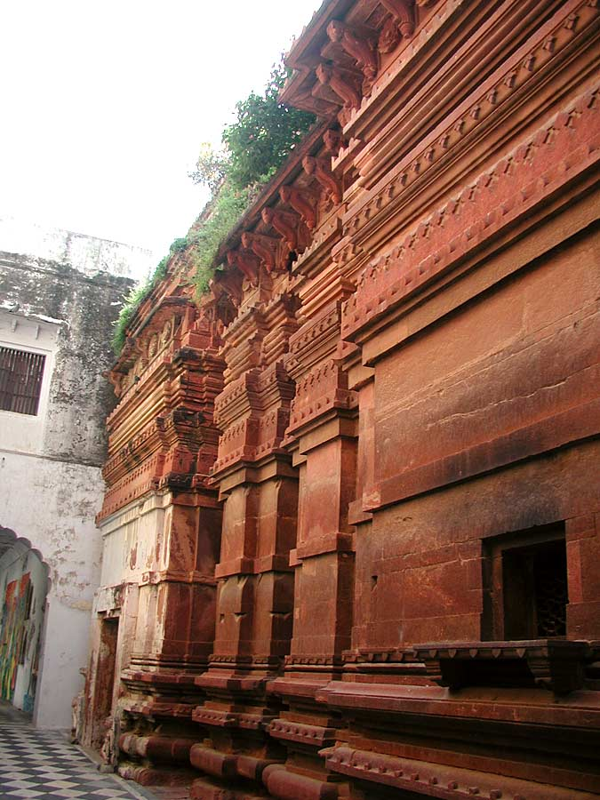 temple of Gopinath in Vrindavan and lived here until his sacred body